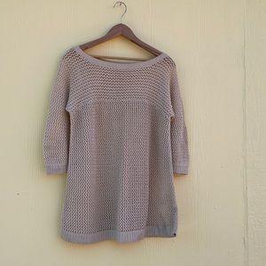 Kimchi & Blue Sweater in Cream/Tan Size M
